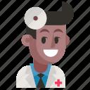 avatar, doctor, job, man, profession, user, work icon
