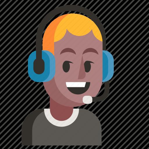 Avatar, job, man, profession, support, user, work icon - Download on Iconfinder