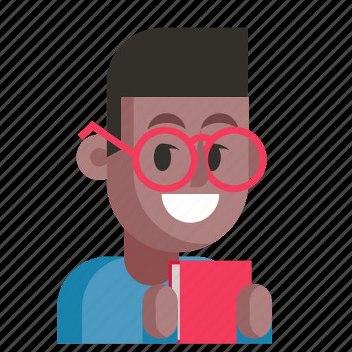 Avatar, job, librarian, man, profession, user, work icon - Download on Iconfinder