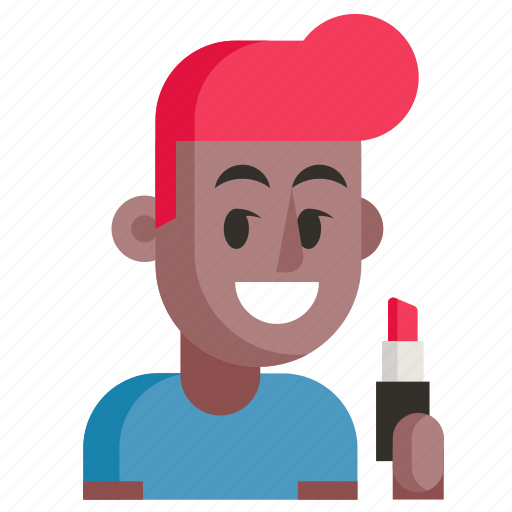 Avatar, job, man, profession, user, visagiste, work icon - Download on Iconfinder