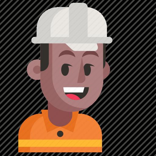 Avatar, job, man, profession, road worker, work icon - Download on Iconfinder