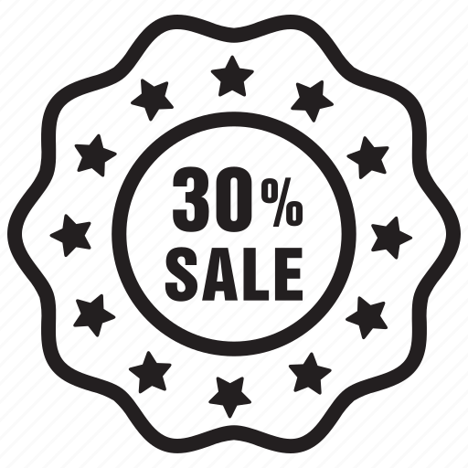 badge, label, offer, percent, sale icon