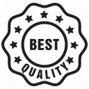 best, label, premium, quality, tag, top icon