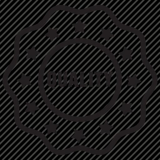 badge, label, premium, quality, tag, top icon