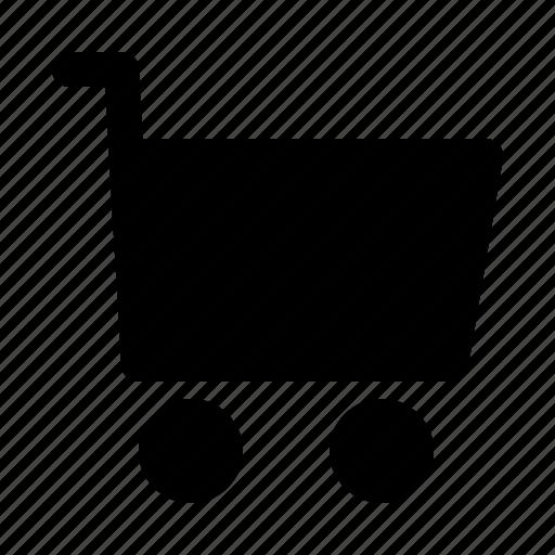 cart, commerce, shopping, supermarket, web icon