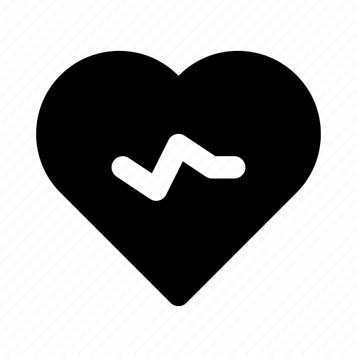 health, heart, medical, pulse, smartwatch icon