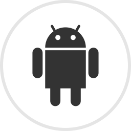android, droid, media, online, social icon