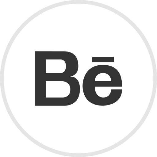 Behnace, media, online, portfolio, social icon - Free download