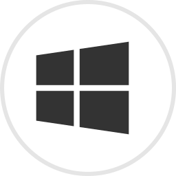 media, online, social, software, windows icon