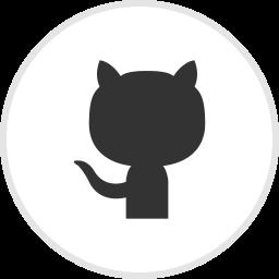 github, logo, media, social icon