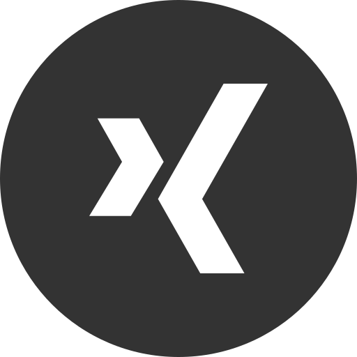 logo, media, social, xing icon