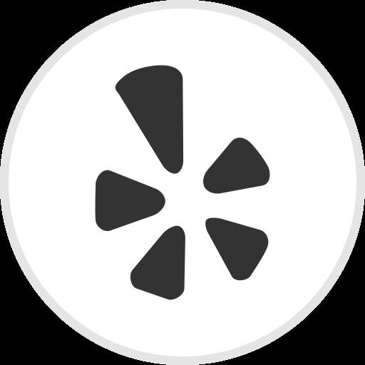logo, media, social, yelp icon