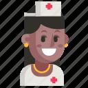 avatar, job, nurse, profession, user, woman, work icon
