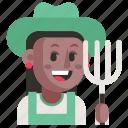 avatar, farmer, job, profession, user, woman, work