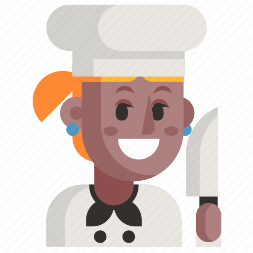 Avatar, chef, job, profession, user, woman, work icon - Download on Iconfinder