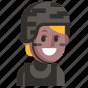 avatar, job, profession, swat, user, woman, work