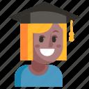 avatar, job, profession, student, user, woman, work