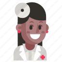 avatar, doctor, job, profession, user, woman, work icon