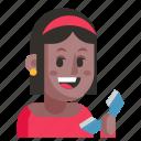 avatar, job, profession, secretary, user, woman, work