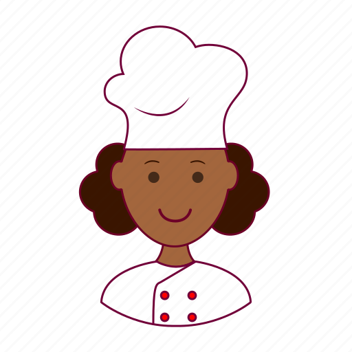 Black woman, chef, emprego, job, professions, trabalho, work icon - Download on Iconfinder