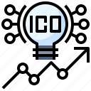 bitcoin, cryptocurrency, currency, ico, money icon
