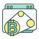 bitcoin, blcokchain, engine, machine, motor, work icon