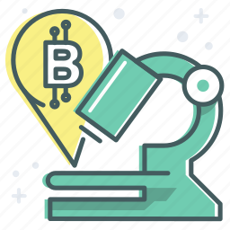 blockchain, medical, payment, research, technology icon