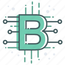bitcoin, blockchain, currency, digital, finance, money, payment icon