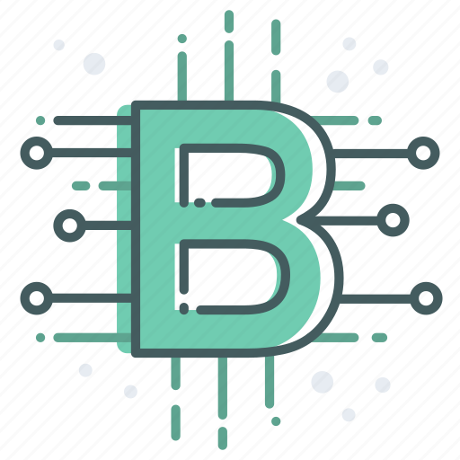 bitcoin, blockchain, currency, datenbank, digital, money, payment icon