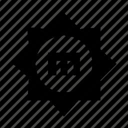brightness, manual, sun, sunlight icon