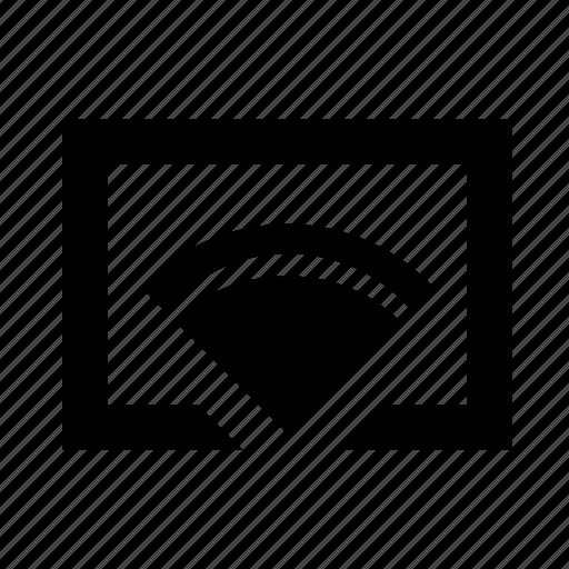 cast, chromecast, mirroring, widi icon
