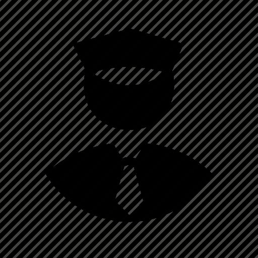 guard, no access, permission, security, stop icon