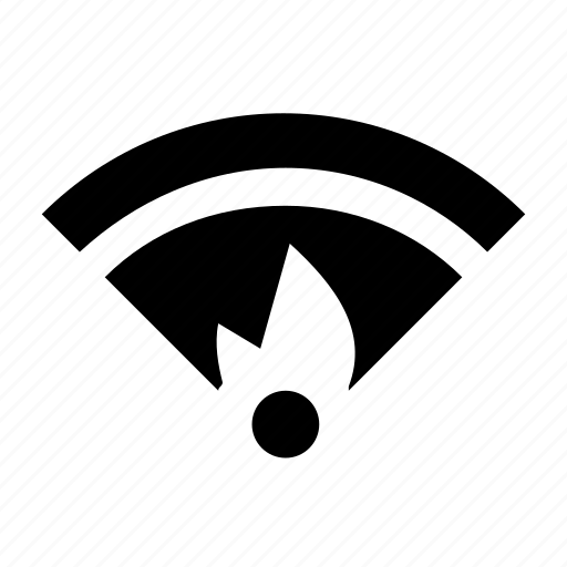 hotspot, on, wifi hotspot icon
