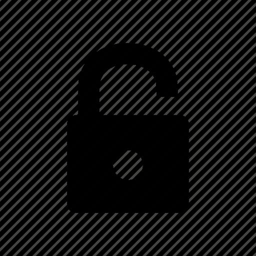 access granted, open, unlock icon