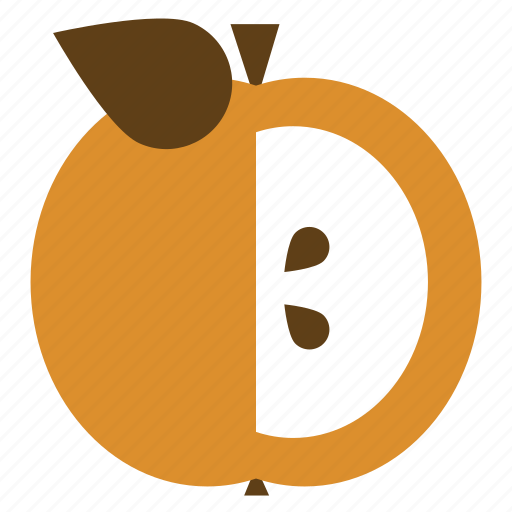 apple, fruit, seeds icon