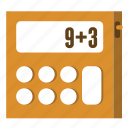 algebra, calculator, math, mathematics icon