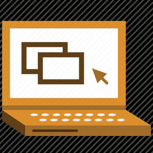 computer, laptop, pc, windows icon
