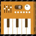 maker, music, sampler, synth icon