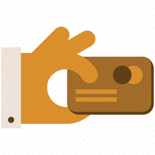 Card, hand, pay, payment icon - Download on Iconfinder