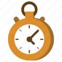chronometer, stopwatch, time, watch icon