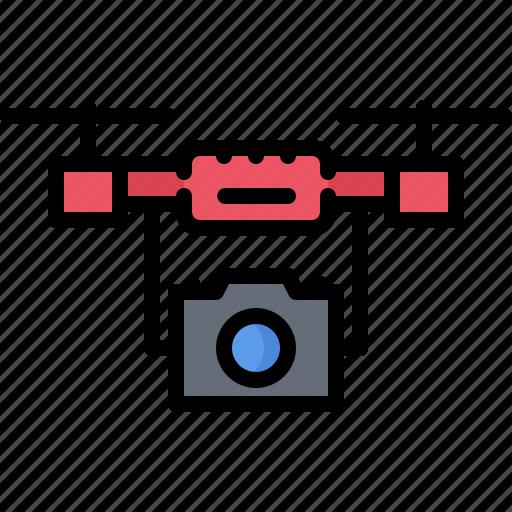 blog, camera, channel, drone, network, social, video icon