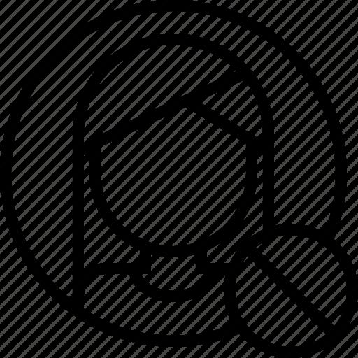 ban, delete, follower, list, remove, user icon