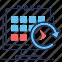 calendar, organizer, planner, task icon
