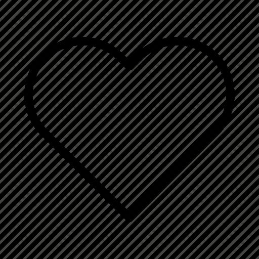 blog, heart, interface, like, online, user, website icon