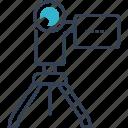 blogging, camera, cinema, montage, movie icon