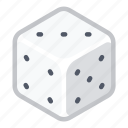 casino, dice, gambling, game, games, luck icon