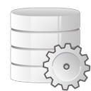 database, settings icon