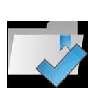 folder, check