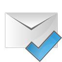 check, email, ok icon