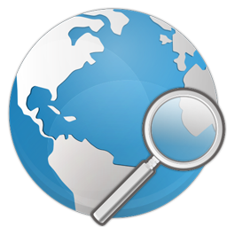 earth, internet, search icon